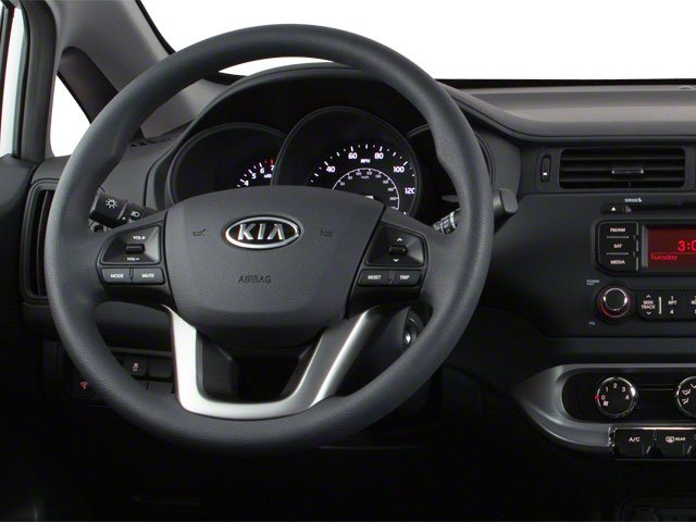 2013 Kia Rio Prices and Values Hatchback 5D LX driver's dashboard
