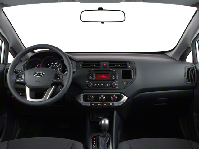 2013 Kia Rio Prices and Values Hatchback 5D LX full dashboard