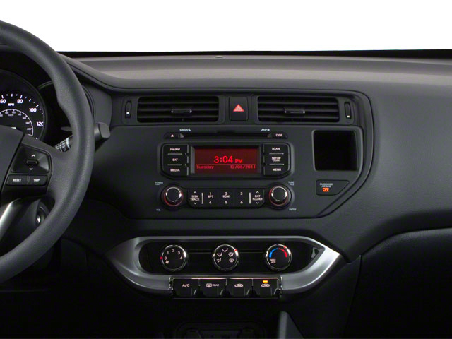 2013 Kia Rio Prices and Values Hatchback 5D LX center dashboard