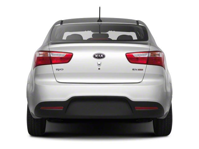 2013 Kia Rio Prices and Values Sedan 4D SX rear view