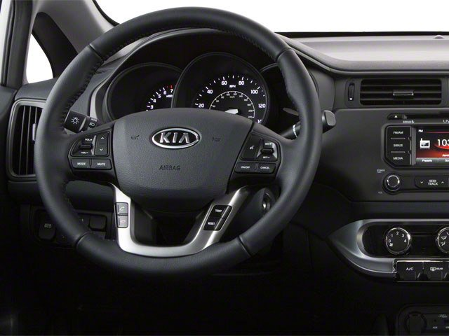 2013 Kia Rio Prices and Values Sedan 4D SX driver's dashboard