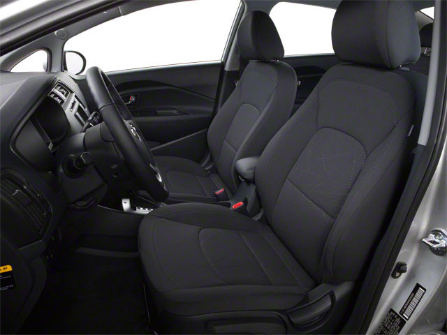 2013 Kia Rio Prices and Values Sedan 4D SX front seat interior