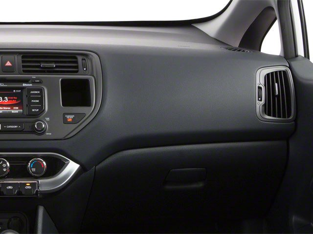 2013 Kia Rio Prices and Values Sedan 4D SX passenger's dashboard