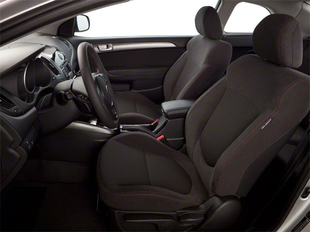 2013 Kia Forte Koup Prices and Values Coupe 2D EX I4 front seat interior