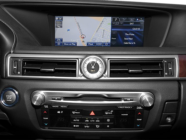 2013 Lexus GS 350 Prices and Values Sedan 4D GS350 AWD stereo system