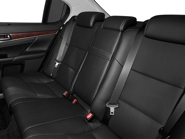 2013 Lexus GS 350 Prices and Values Sedan 4D GS350 AWD backseat interior