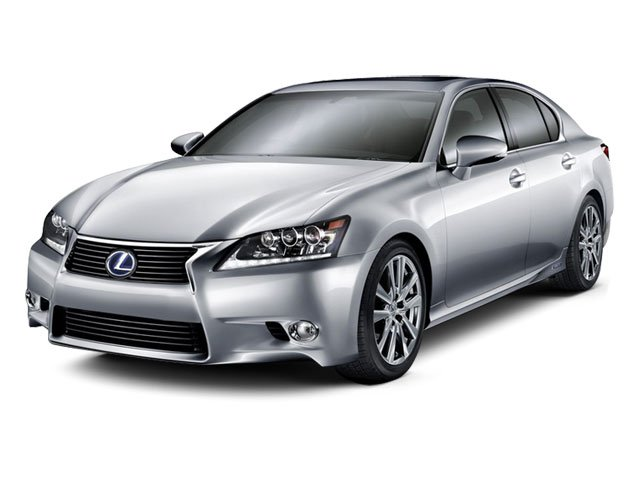 2013 Lexus GS 450h Pictures GS 450h Sedan 4D GS450h photos side front view