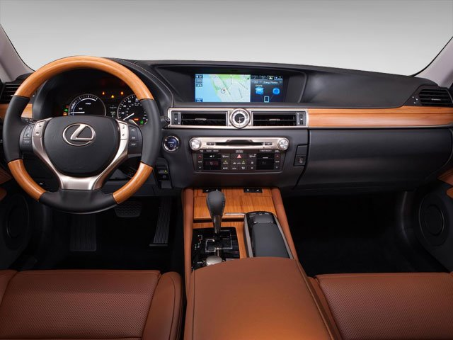 2013 Lexus GS 450h Pictures GS 450h Sedan 4D GS450h photos full dashboard