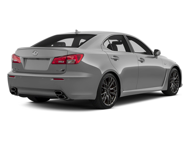 2013 Lexus IS F Pictures IS F Sedan 4D IS-F V8 photos side rear view