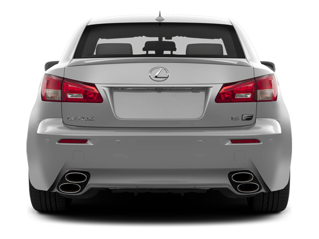 2013 Lexus IS F Pictures IS F Sedan 4D IS-F V8 photos rear view