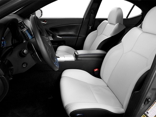 2013 Lexus IS F Pictures IS F Sedan 4D IS-F V8 photos front seat interior