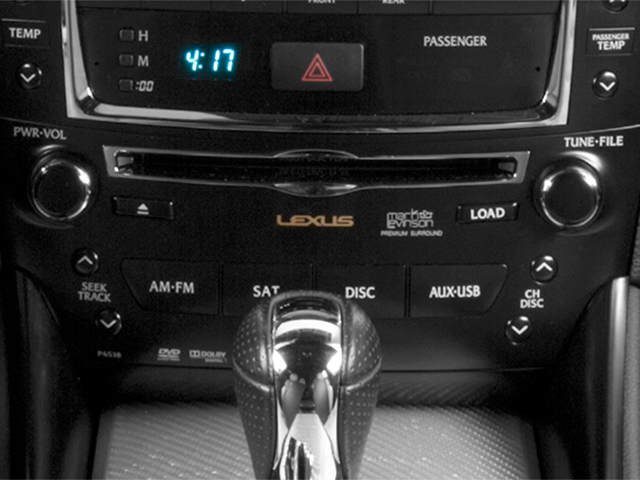 2013 Lexus IS F Pictures IS F Sedan 4D IS-F V8 photos stereo system