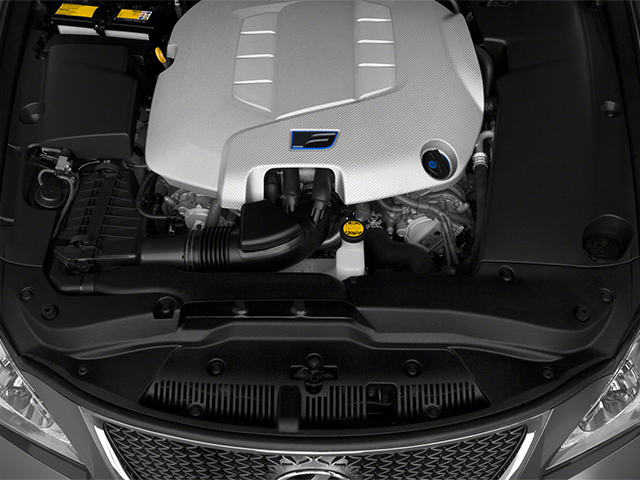 2013 Lexus IS F Pictures IS F Sedan 4D IS-F V8 photos engine