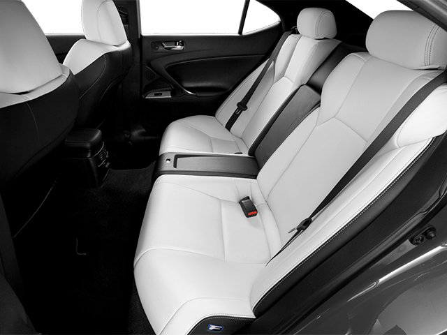 2013 Lexus IS F Pictures IS F Sedan 4D IS-F V8 photos backseat interior