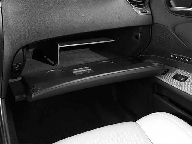 2013 Lexus IS F Pictures IS F Sedan 4D IS-F V8 photos glove box