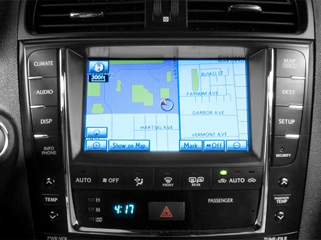 2013 Lexus IS F Pictures IS F Sedan 4D IS-F V8 photos navigation system