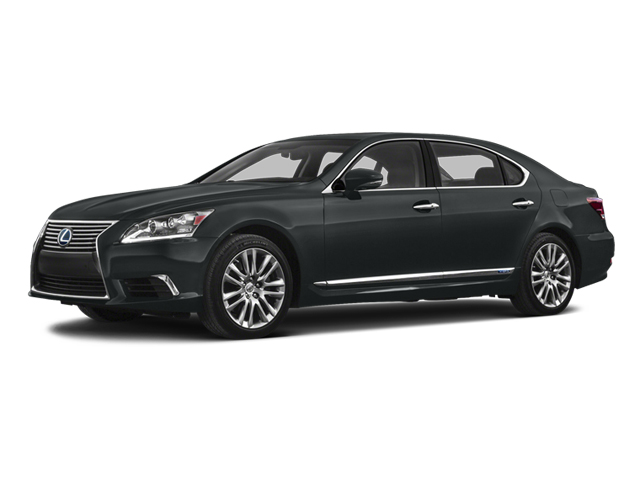 2013 Lexus LS 600h L Prices and Values Sedan 4D LS600hL AWD V8 Hybrid side front view