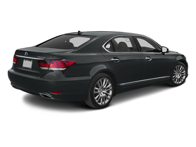 2013 Lexus LS 600h L Prices and Values Sedan 4D LS600hL AWD V8 Hybrid side rear view