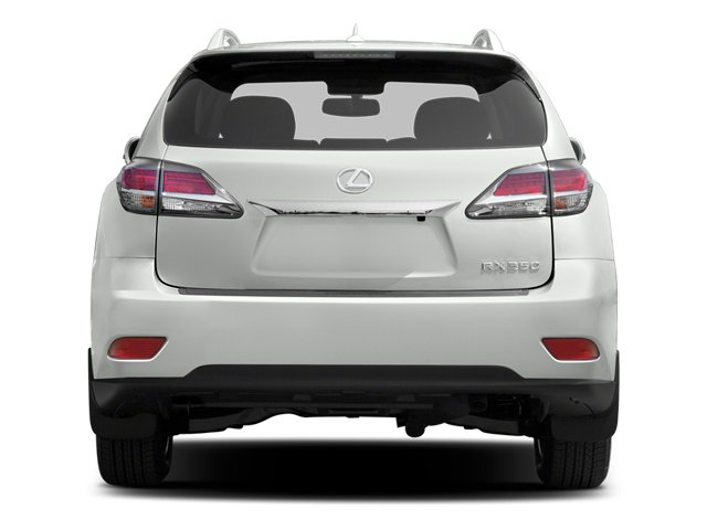 2013 Lexus RX 350 Prices and Values Utility 4D AWD rear view