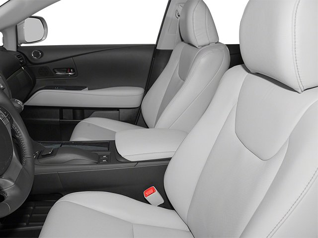 2013 Lexus RX 350 Prices and Values Utility 4D AWD front seat interior