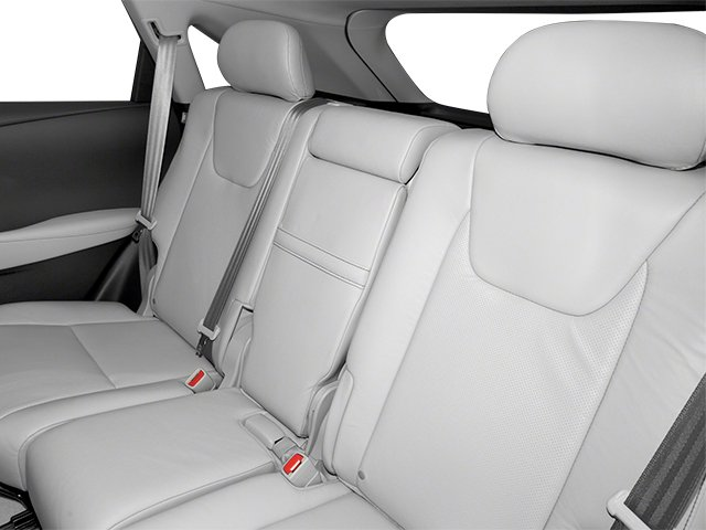 2013 Lexus RX 350 Prices and Values Utility 4D AWD backseat interior