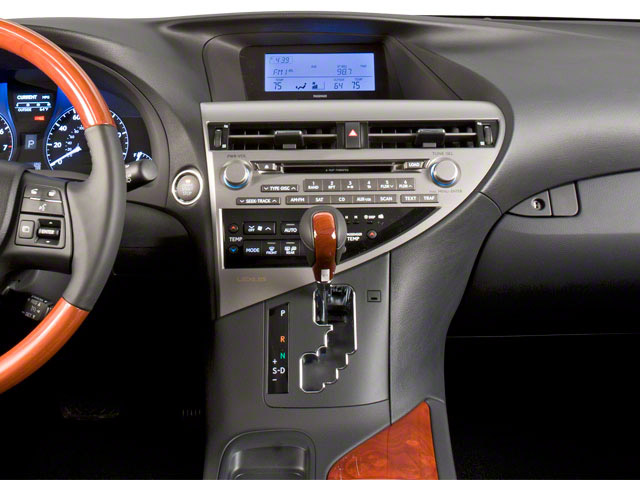 2013 Lexus RX 350 Prices and Values Utility 4D AWD center dashboard