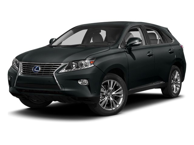 2013 Lexus RX 450h Prices and Values Utility 4D 2WD side front view