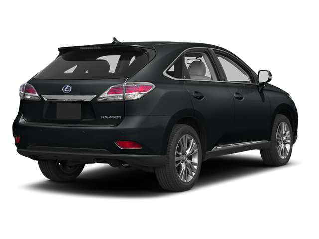 2013 Lexus RX 450h Prices and Values Utility 4D 2WD side rear view