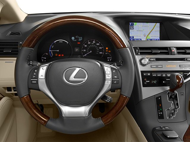 2013 Lexus RX 450h Prices and Values Utility 4D 2WD driver's dashboard