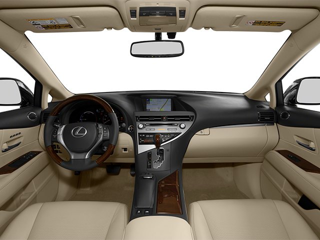 2013 Lexus RX 450h Prices and Values Utility 4D 2WD full dashboard