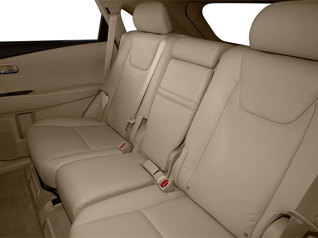 2013 Lexus RX 450h Prices and Values Utility 4D 2WD backseat interior