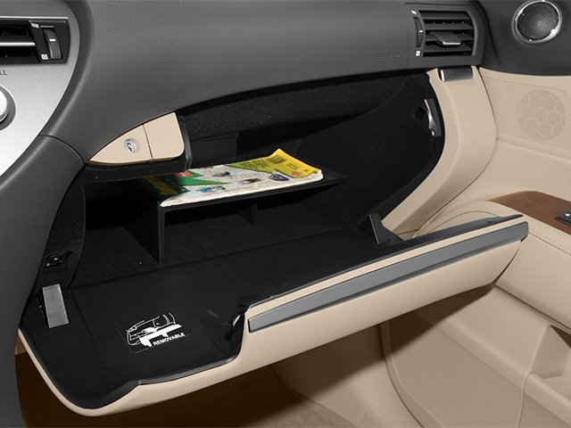 2013 Lexus RX 450h Prices and Values Utility 4D 2WD glove box