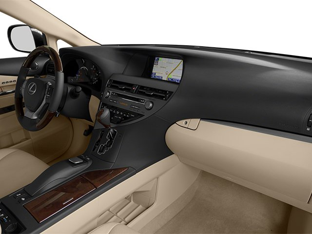 2013 Lexus RX 450h Prices and Values Utility 4D 2WD passenger's dashboard
