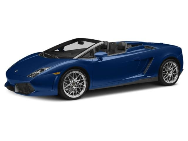 2013 Lamborghini Gallardo Prices and Values 2 Door Coupe (Manual) side front view