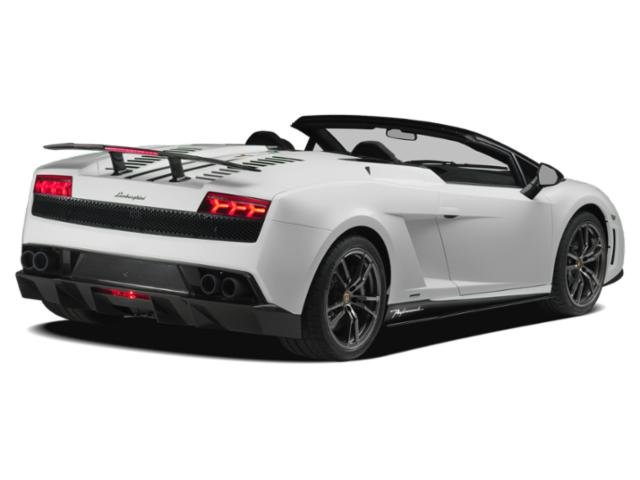2013 Lamborghini Gallardo Prices and Values 2 Door Coupe (Manual) side rear view