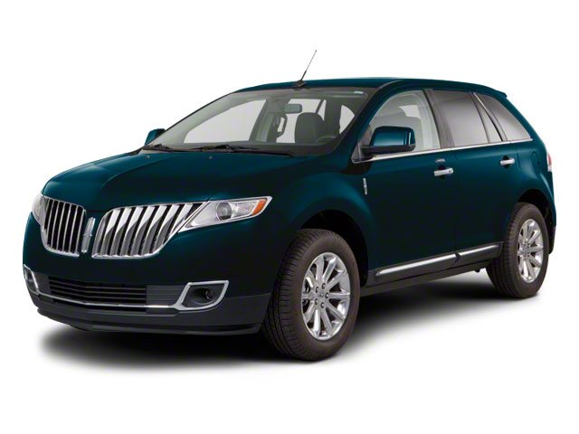 2013 Lincoln MKX Pictures MKX Wagon 4D Elite AWD photos side front view