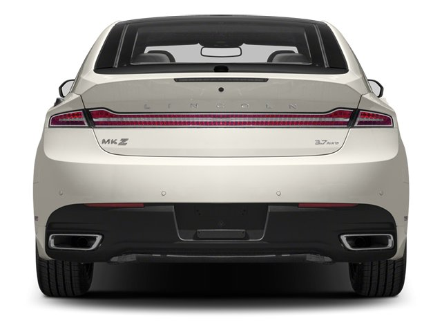 2013 Lincoln MKZ Prices and Values Sedan 4D EcoBoost AWD I4 rear view