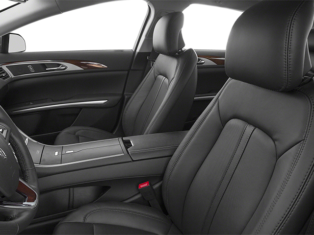 2013 Lincoln MKZ Prices and Values Sedan 4D EcoBoost AWD I4 front seat interior