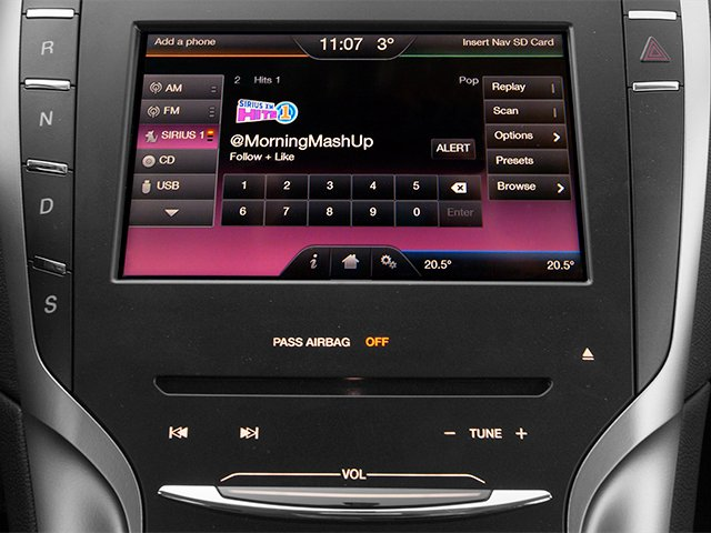 2013 Lincoln MKZ Prices and Values Sedan 4D EcoBoost AWD I4 stereo system