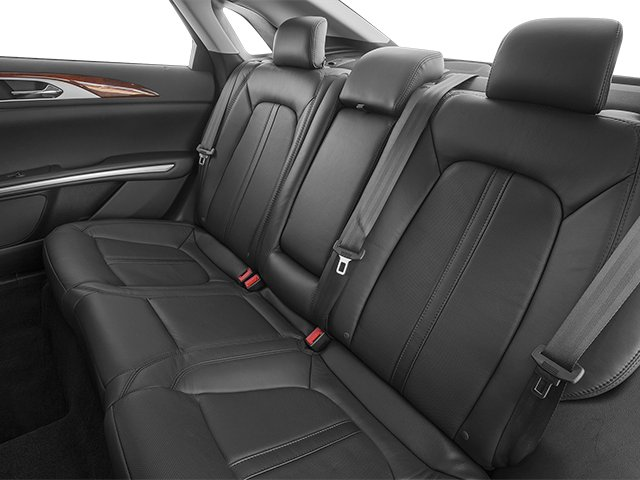 2013 Lincoln MKZ Prices and Values Sedan 4D EcoBoost AWD I4 backseat interior