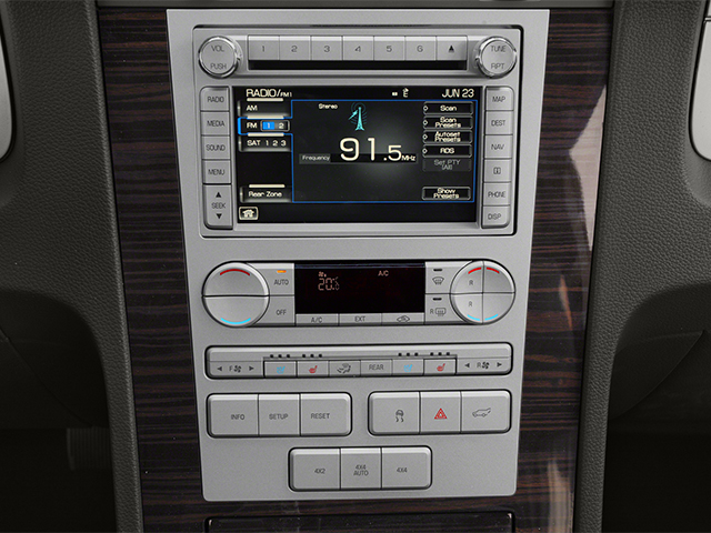 2013 Lincoln Navigator L Prices and Values Utility 4D 4WD V8 stereo system