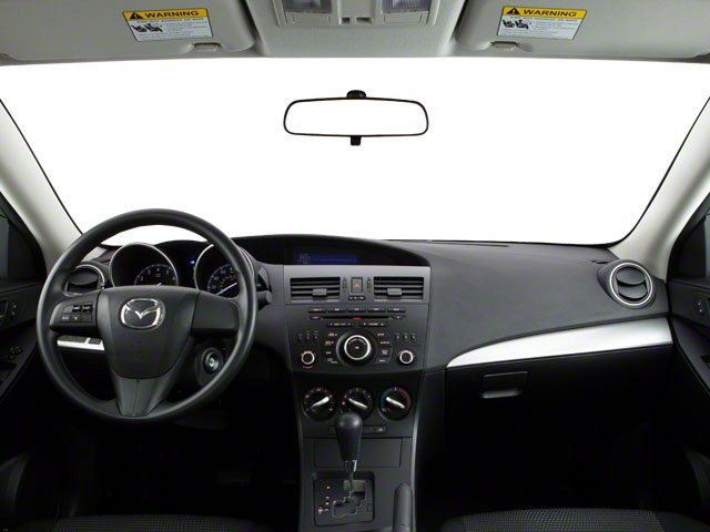 2013 Mazda Mazda3 Prices and Values Sedan 4D i SV I4 full dashboard