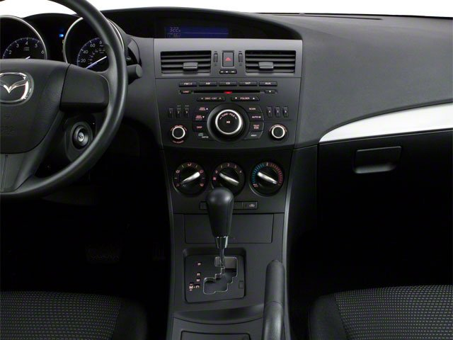 2013 Mazda Mazda3 Prices and Values Sedan 4D i SV I4 center console