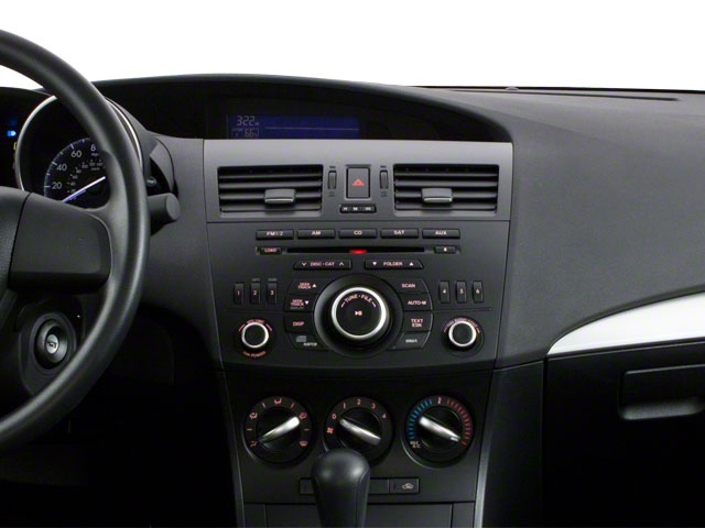 2013 Mazda Mazda3 Prices and Values Sedan 4D i SV I4 center dashboard