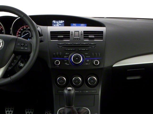 2013 Mazda Mazda3 Prices and Values Wagon 5D SPEED I4 center dashboard