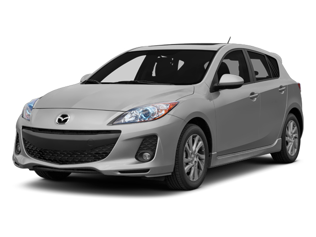 2013 Mazda Mazda3 Pictures Mazda3 Wagon 5D i Touring I4 photos side front view
