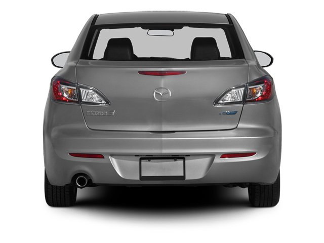 2013 Mazda Mazda3 Prices and Values Sedan 4D i Touring I4 rear view