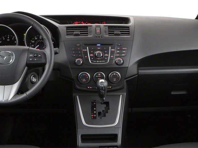 2013 Mazda Mazda5 Prices and Values Wagon 5D GT I4 center dashboard