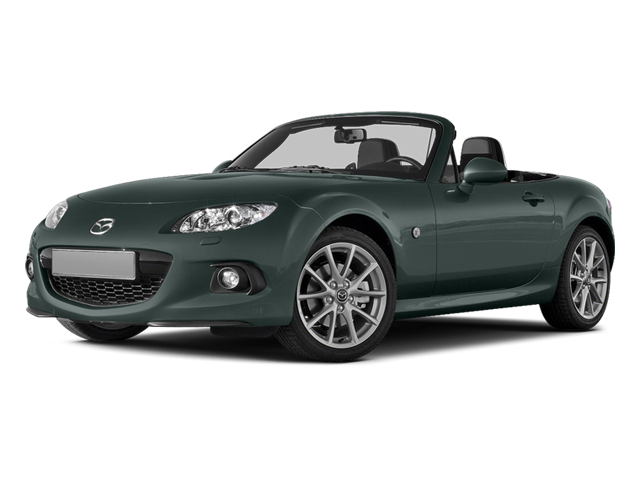 2013 Mazda MX-5 Miata Pictures MX-5 Miata Convertible 2D Club I4 photos side front view