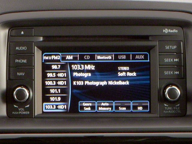 2013 Mazda CX-5 Prices and Values Utility 4D Touring 2WD stereo system
